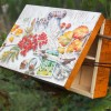 Jesenná krabička na čaj